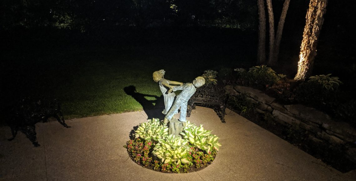 Statue Lighting Services in canton