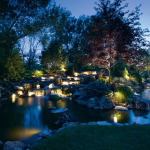 outdoor lighting services in south lyon