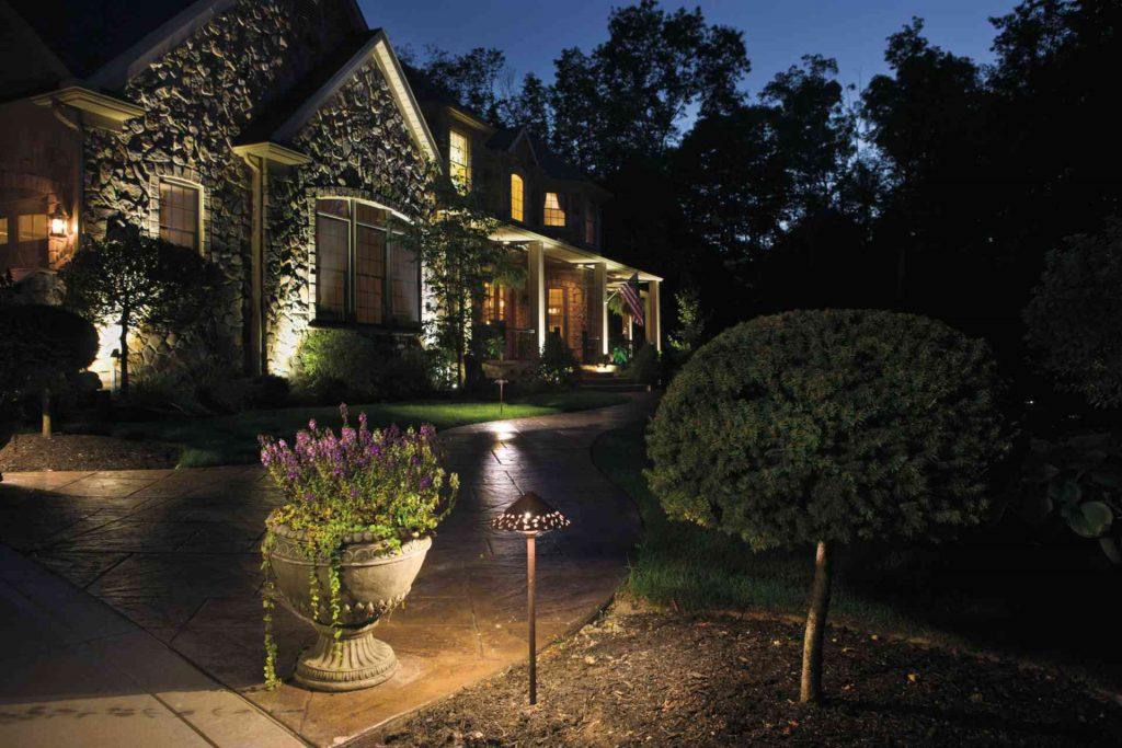 maintain outdoor lighting