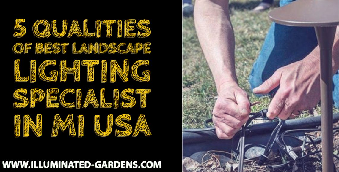 5 Qualities of Best Landscape Lighting Specialist in Mi USA