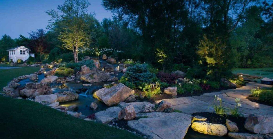 outdoor lighting canton mi
